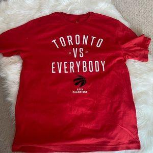 Peace Collective x Toronto Raptors championship T!
